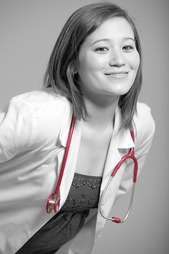female doctor photo